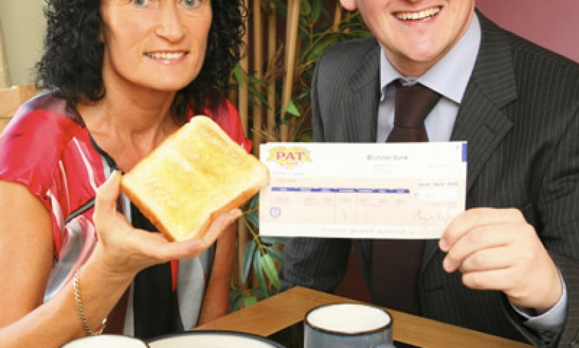 Eileen Brings Luck To Galway in Bread Lottery