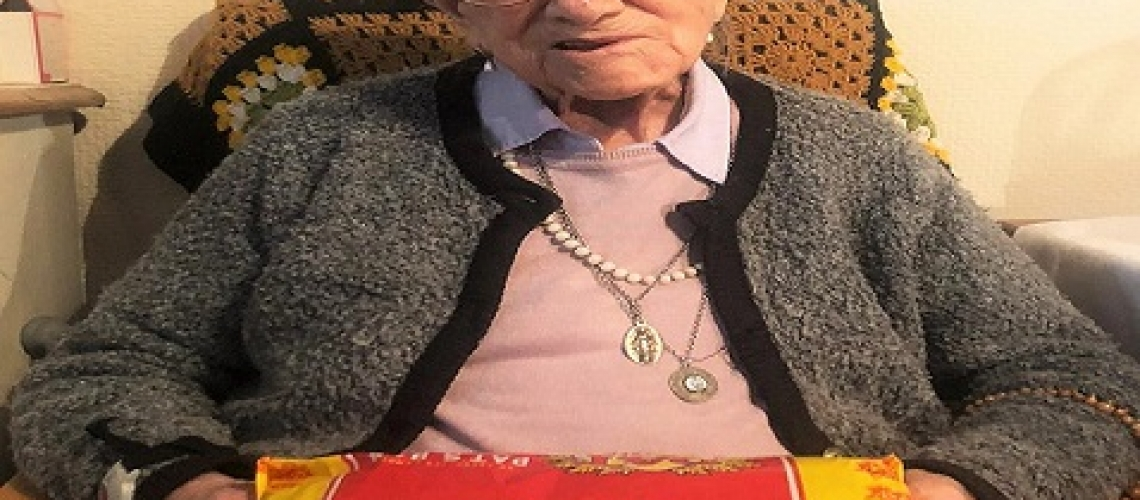 Pat The Bakers most longstanding customer turns 107 on the 16th of October