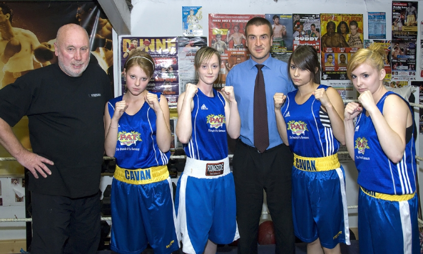 Cavan Boxers Punch With Pat