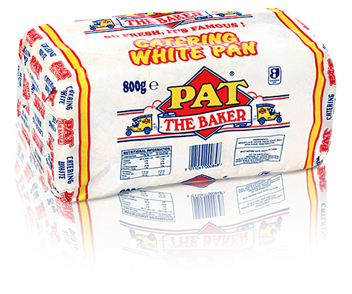 Catering White Pan | Pat The Baker