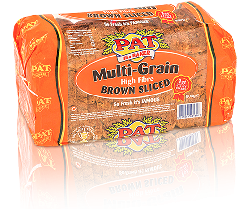 Multi-Grain High Fiber Brown | Pat The Baker