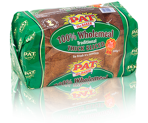 100% Wholemeal | Pat The Baker